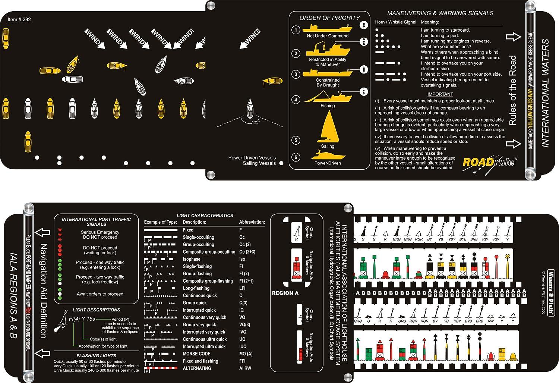 Weems & Plath Marine Navigation roadrule Marine Navigation Aids, Rules Of The Road und leichten Eigenschaften (IALA, international Waters)