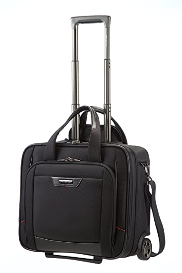 c2cd6886bf8 Samsonite PRO-DLX4 Polyester 43 cms Black Laptop Trolley Bag (35V (0) 09  009): Amazon.in: Bags, Wallets & Luggage