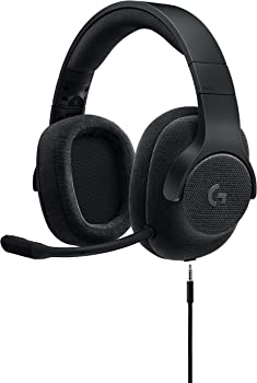 Logitech G433 Over-Ear 3.5mm Wired Gaming Headphones