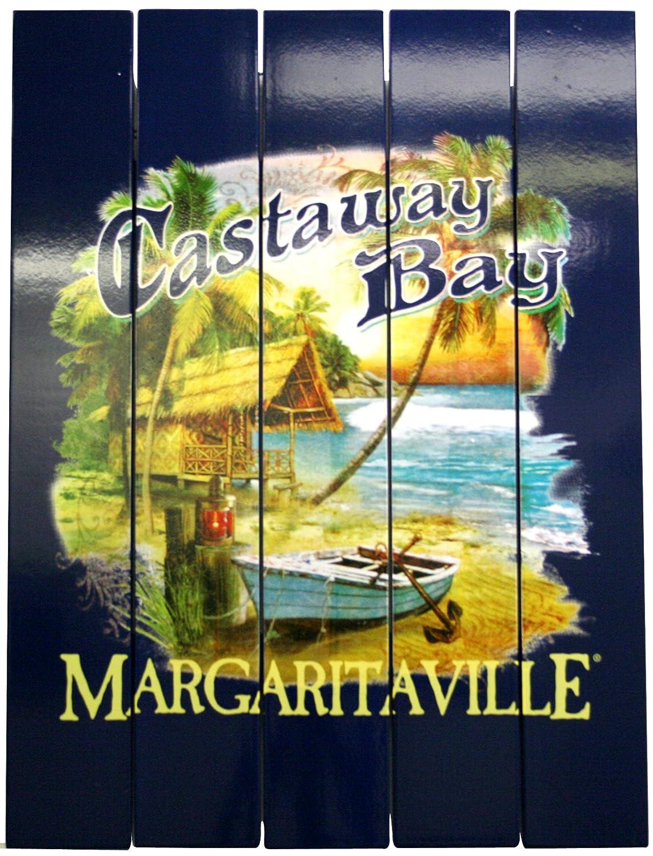 Amazon.com : Margaritaville Outdoor Castaway Bay Wall Art : Garden ...