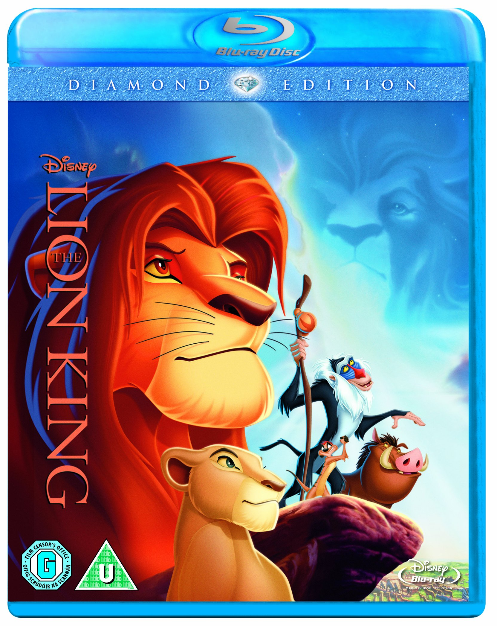 The Lion King Diamond Edition  Region Free  UK