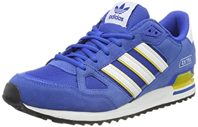 huge selection of b5053 0c501 ... where to buy adidas originals mens zx 750 low top sneakers blue fc435  394d2