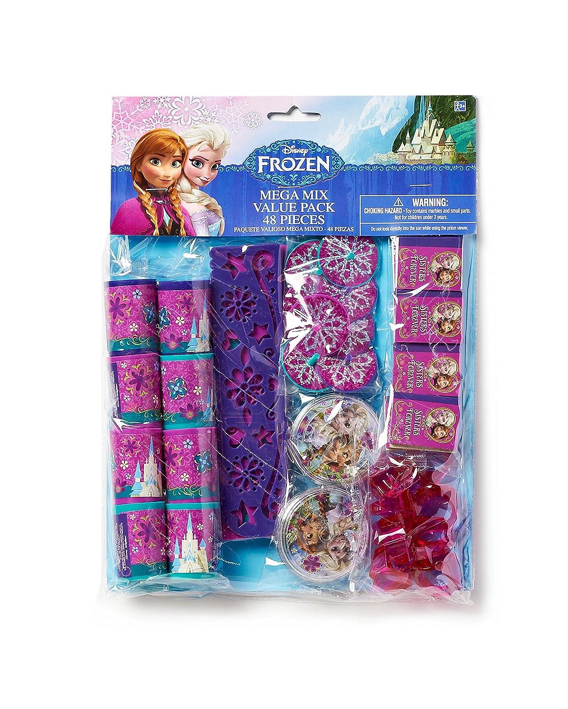 Frozen Party Favor Pack, Value Pack, Party Supplies: Amazon.es ...