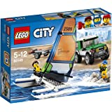 LEGO City - Coche 4x4 con catamarán (60149)