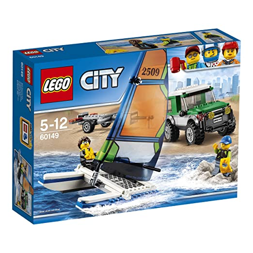 655 opinioni per LEGO City 60149- Great Vehicles Pick Up 4 x 4 con Catamarano