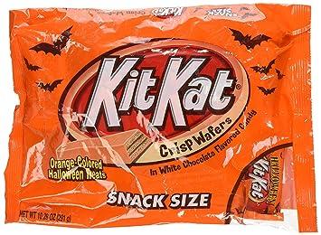 amazon com kit kat orange halloween treats snack size 10 29