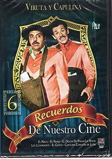 Viruta Y Capulina Recuerdos De Nuestro Cine 6 Peliculas (El Naco, El Nano,