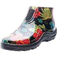 Sloggers Women's Waterproof Rain and Garden Ankle Boots with Comfort Insole, Midsummer