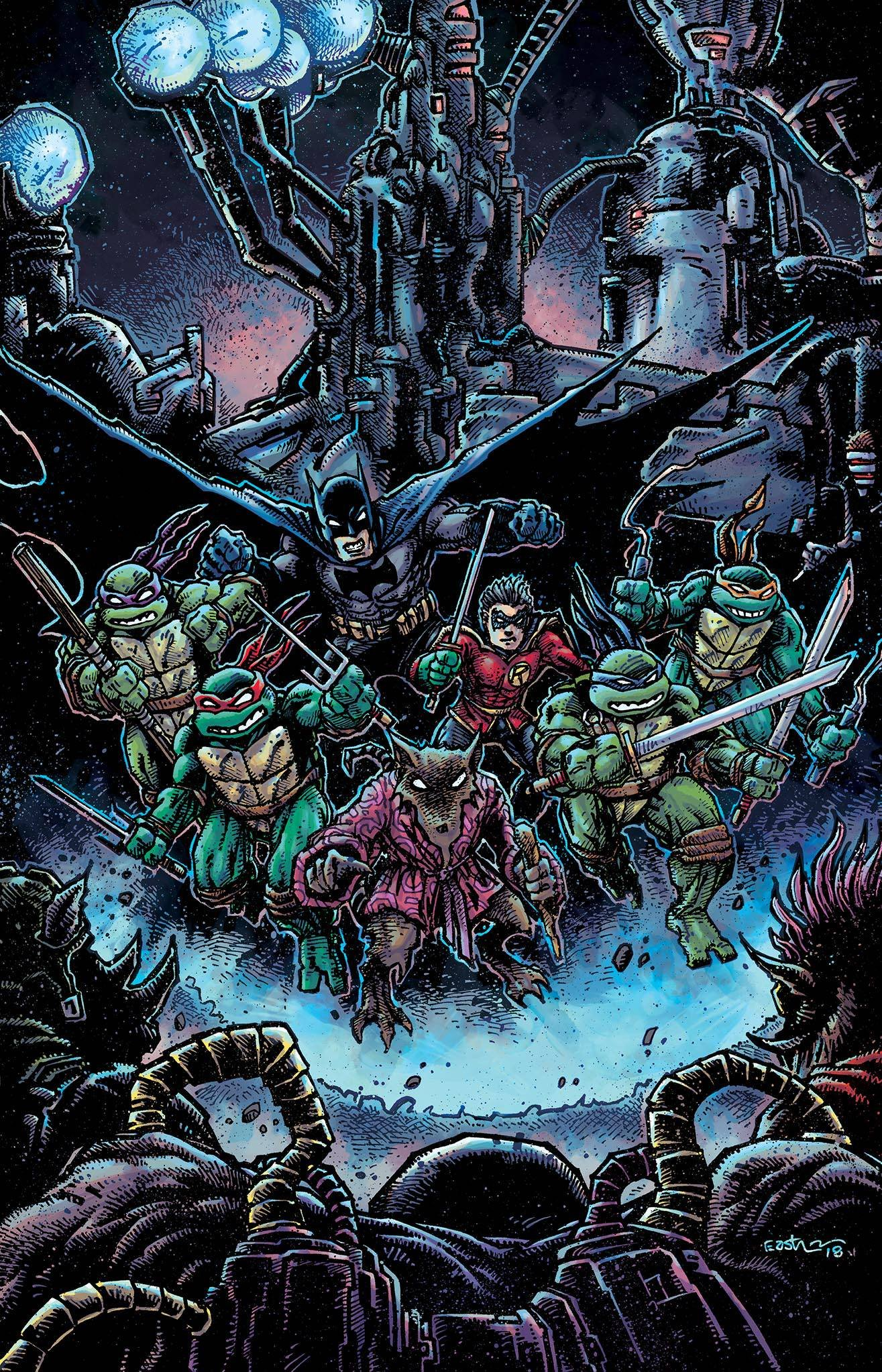 Batman Teenage Mutant Ninja Turtles Ii #4 (of 6): Amazon.com ...