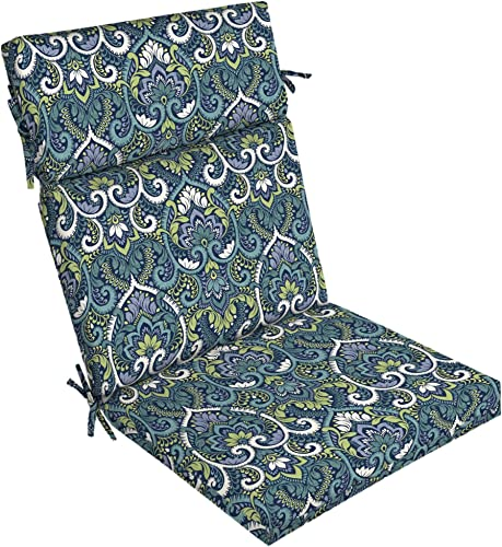 Arden Selections Sapphire Aurora Damask Dining Chair Cushion