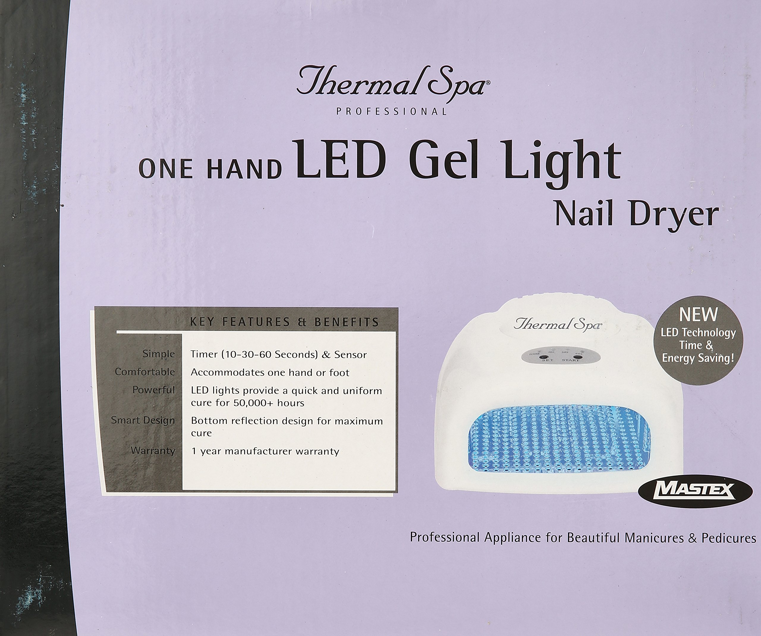 Thermal SPA One Hand Led Gel Light Nair Dryer by Thermal Spa (Image #2)