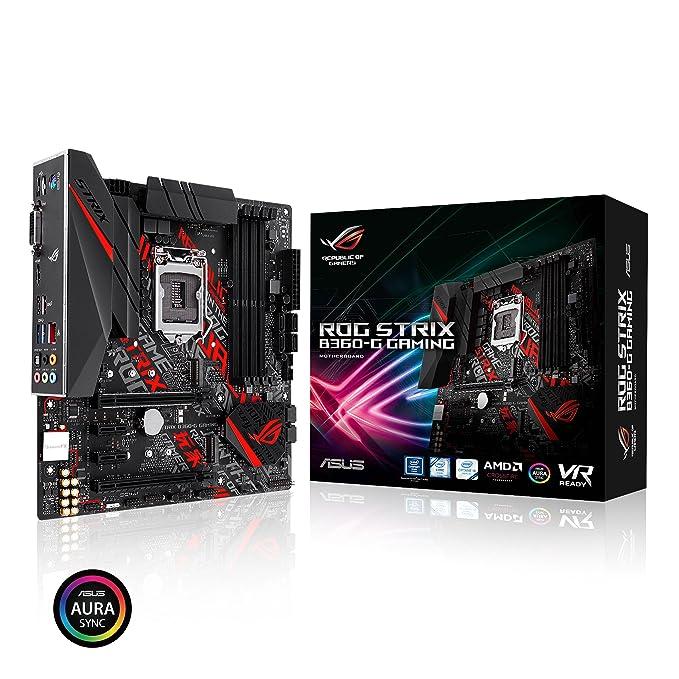 Amazon.com: Asus ROG Strix B360-G Gaming Intel_ B360 LGA 1151 (Socket H4): Computers & Accessories