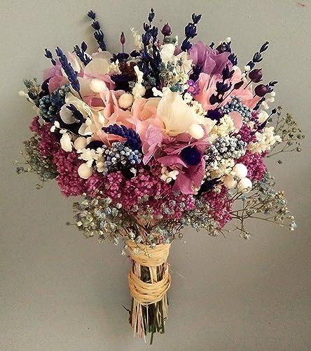 53677ecd47a0 Ramo de novia con rosa