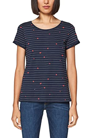 97b8c38aec3704 edc by Esprit Women's T-Shirt: Amazon.co.uk: Clothing