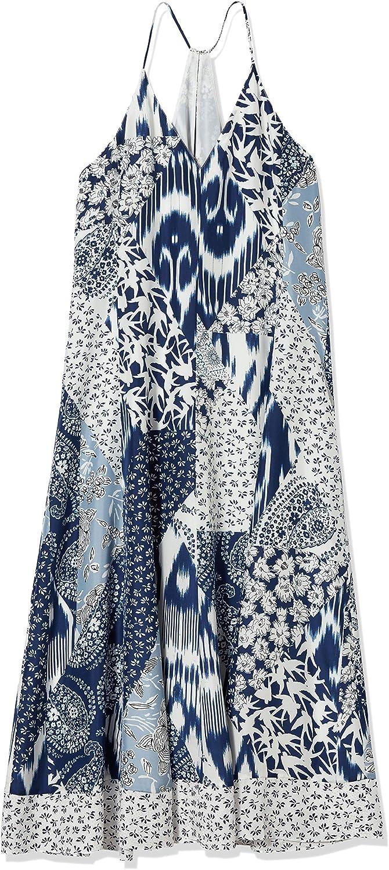 Rebecca Taylor Womens Sleeveless Mosaic Tank Dress