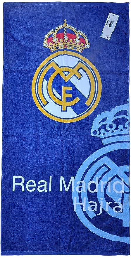 100% con licencia oficial FC Real Madrid Toallas de baño y playa gimnasio natación de