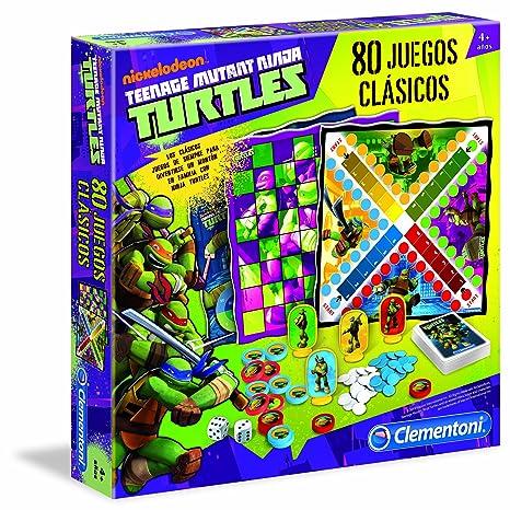 TORTUGAS NINJA - Juegos 80 en 1 (Clementoni 65090)