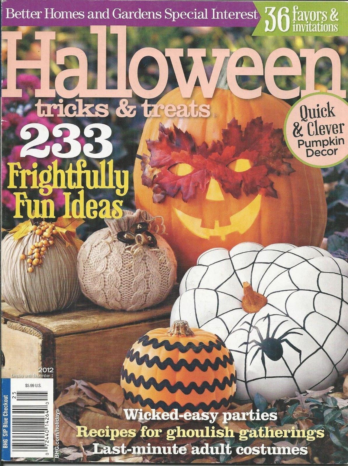 Download Halloween Tips and Tricks magazine 2012 ebook
