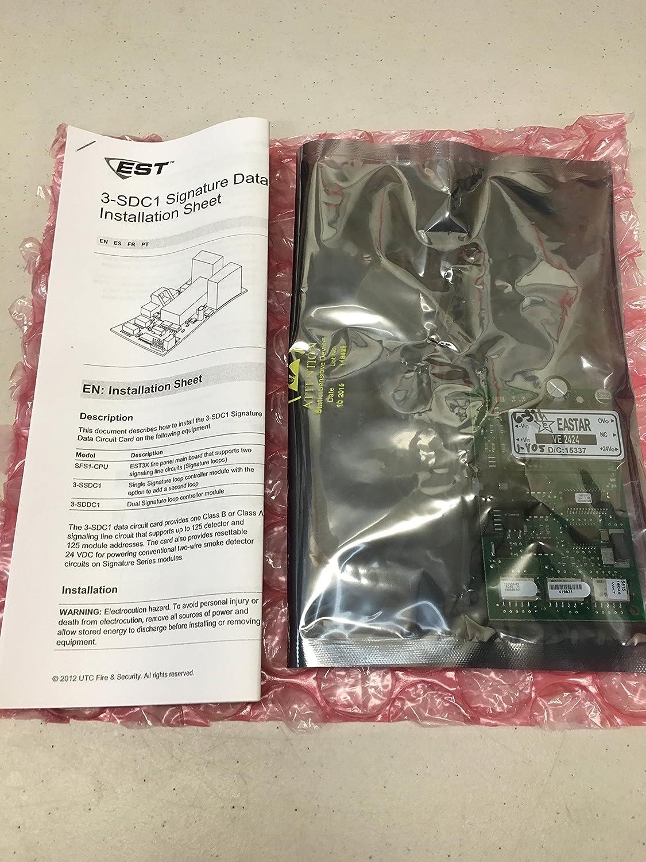 Edwards 3 Sdc1 Fire Signature Driver Controller Module Hybrid Circuit By Utc Security Americas Corporation Inc