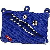 ZIPIT Monster 3-Ring Pencil Case, Royal Blue