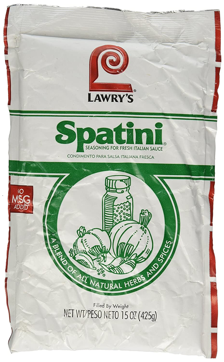 Amazon.com : Lawrys Spatini Spaghetti Pasta Sauce Mix 15 Ounce (Pack of 2) : Grocery & Gourmet Food