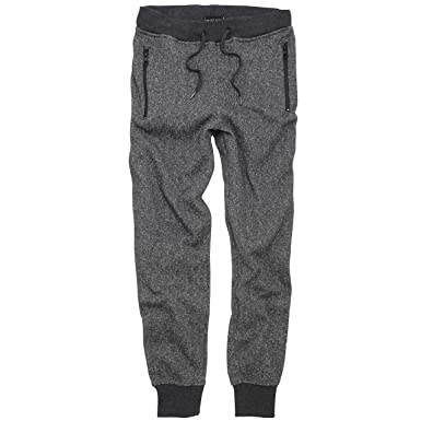 detailed look 42979 81eb1 Brave Soul Mens Hugo Marl Effect Cuffed Jogging Bottoms (S) (Charcoal Marl