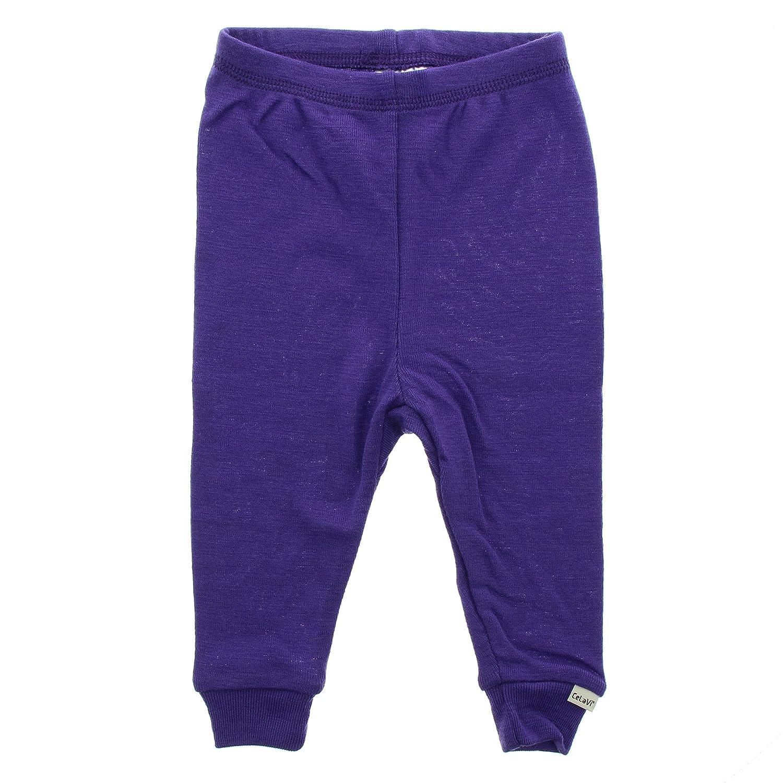 CELAVI Baby - Mädchen Legging, Leggings -Coloured Wool 2190