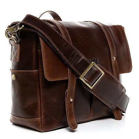 SID   VAIN real leather camera bag DSLR - SLR HEATHROW medium camera case  with adjustable f27c1dcc3c8c1