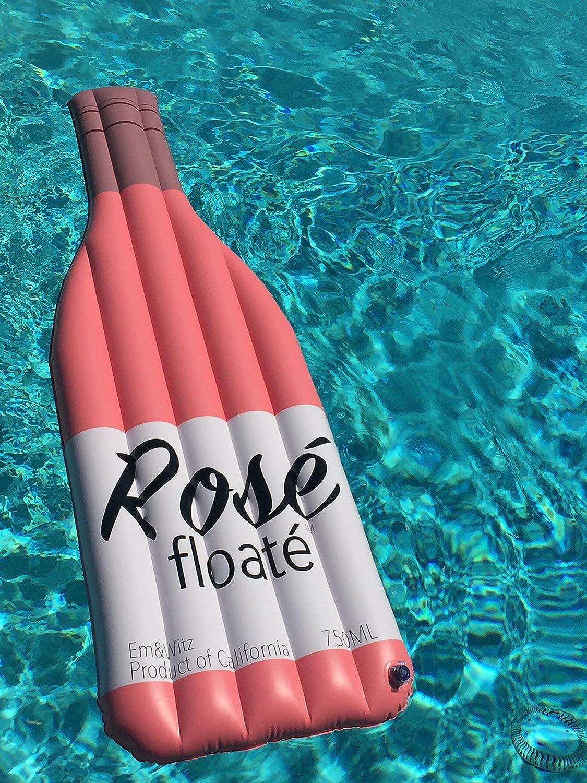 The Rosé Floaté® Flotador Gigante Inflable para Piscina – Premium Rosé Botella de Vino Flotador: Amazon.es: Juguetes y juegos