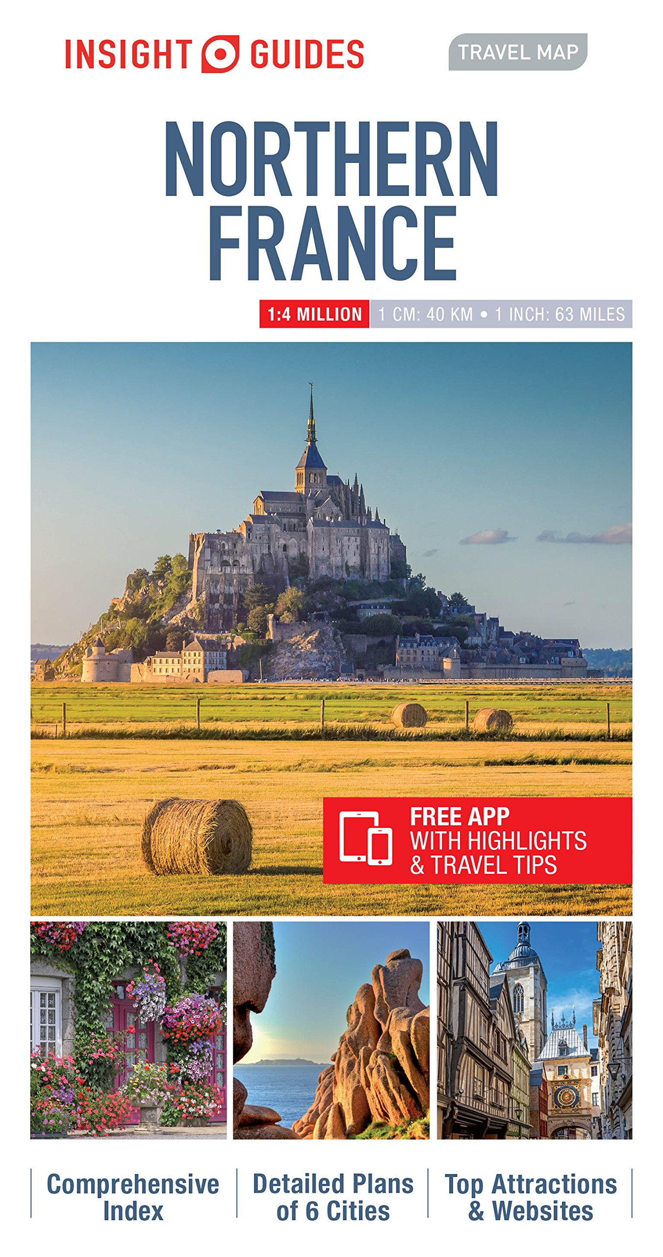 Insight guides travel map northern france insight travel maps insight guides travel map northern france insight travel maps amazon insight guides 9781780055091 books gumiabroncs Gallery