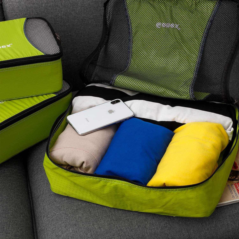 M XL//L//M//S//Shoe Bag // 5 or 9 Set Luggage Travel Organizers Packing Cubes 3 Set