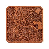 Pittsburgh Map Coaster by O3 Design Studio, 1