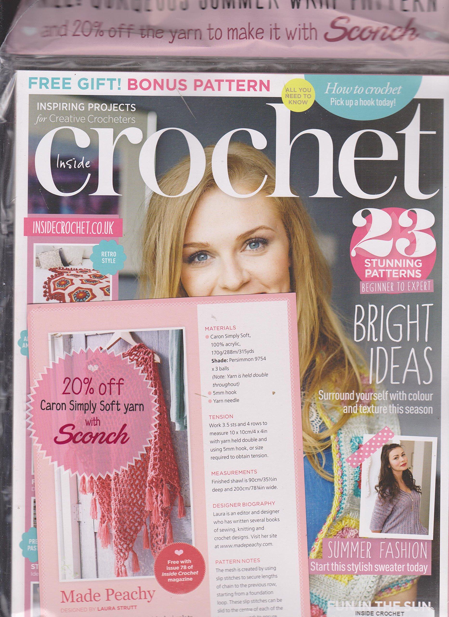 Read Online Inside Crochet Magazine Issue 78 pdf epub