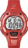 Timex Sport & Outdoor Men's Digital Watch with LCD Dial Digital Display and Orange Resin Strap T5K686SU
