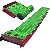 CHAMPKEY PUTTECH Golf Putting Mat | True Roll Surface with Non Slip Backing Putting Green
