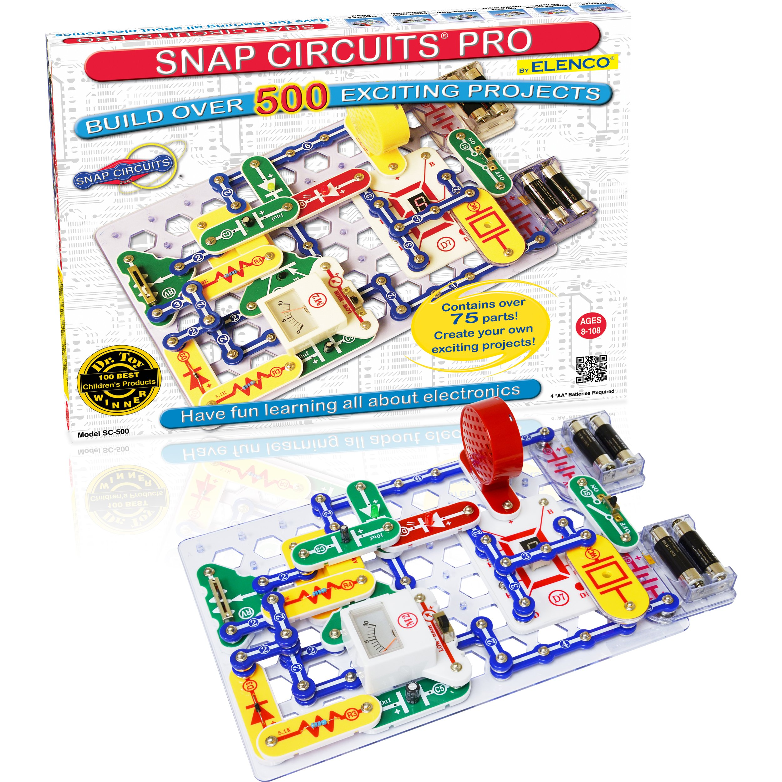 Snap Circuits SC-500RNC Student Training Program - No Storage Case