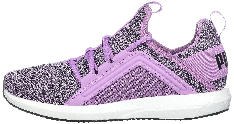 PUMA Women's Mega B0721N94F1 Nrgy Knit Wn Sneaker B0721N94F1 Mega 10 B(M) US|Smoky Grape-puma Black 8c5184