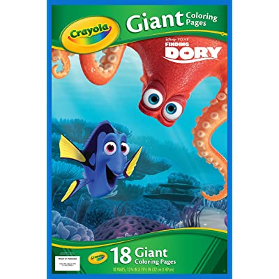 Crayola Finding Dory Giant Coloring Pages: Toys & Games