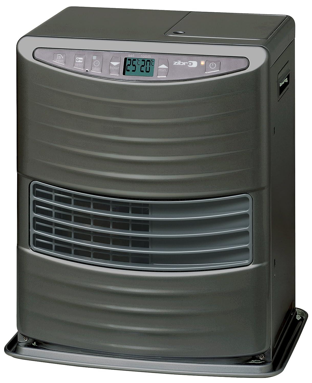 grigio portatile Classe di efficienza Energetica A 3000 W senza installazione KEROSUN LC 3000 Stufa a Combustibile Elettronica da 19m2-48m2 termostato regolazione giornaliera