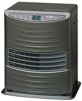 kerosun LC 3000 estufa de combustible electrónica, Portátil, 3000 W, Gris, de 19 M2 - 48 m2, Sin instalación, Termostato ajuste diaria: Amazon.es: Hogar