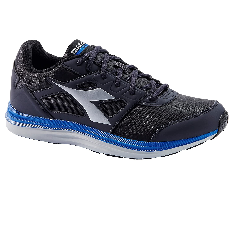 Diadora Heron Win, Zapatillas de Running para Hombre 44 EU|C2081 NERO