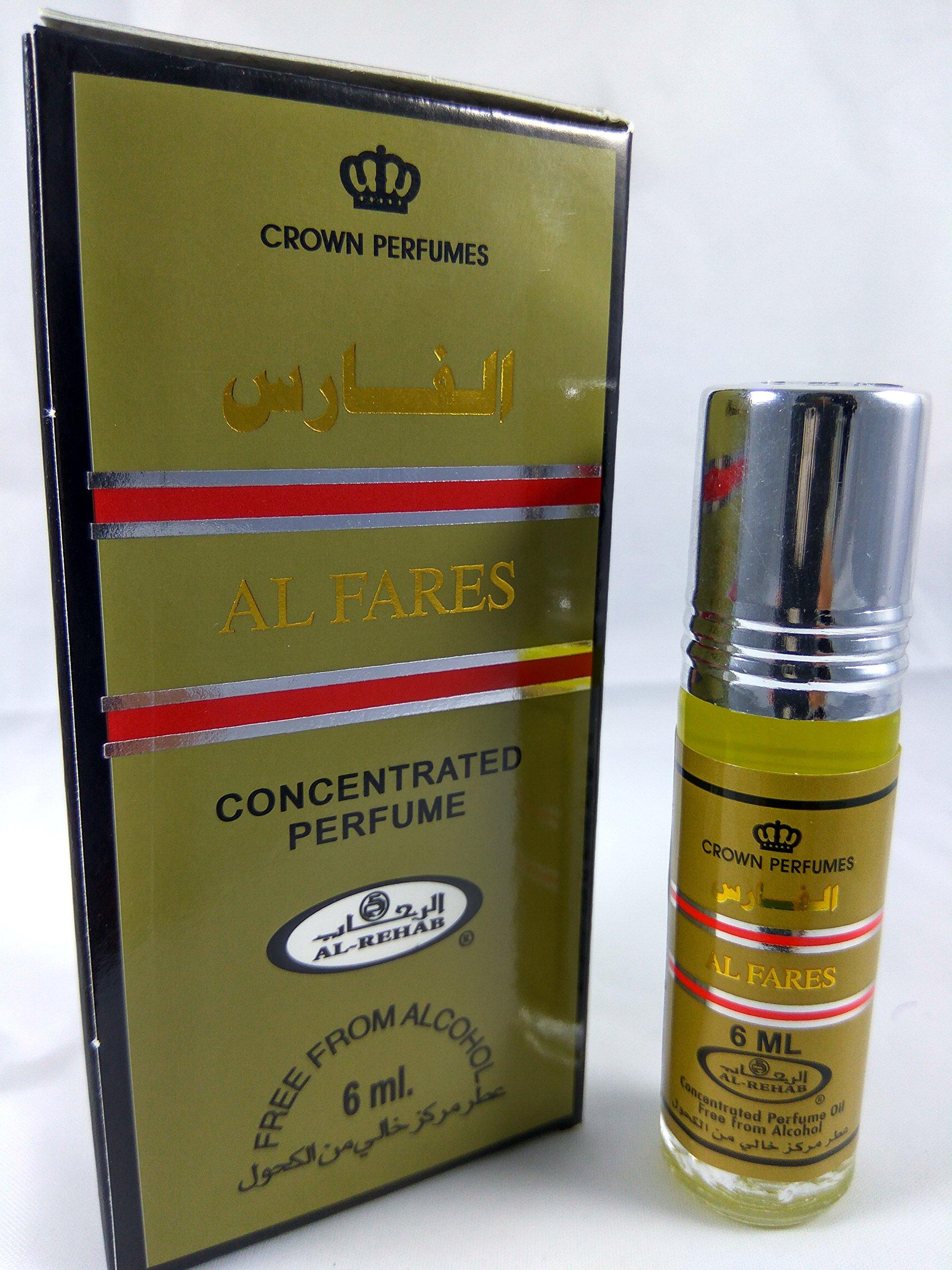 Al Fares Perfume Oil - 6ml by Al Rehab