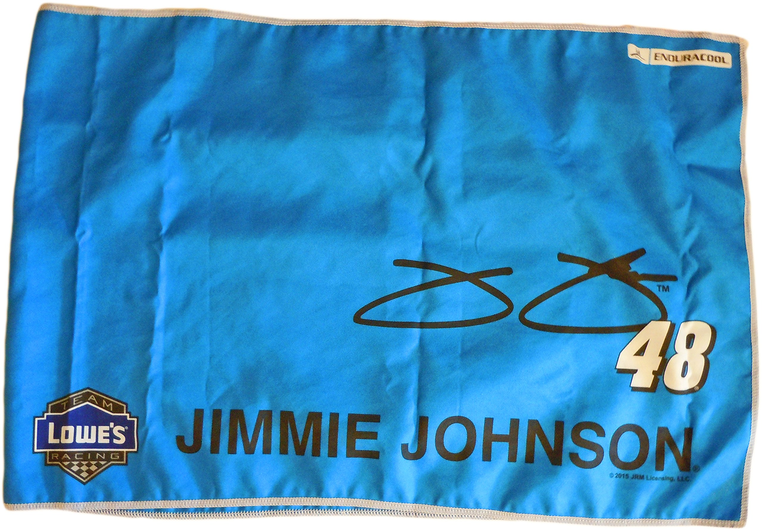 Mission Enduracool Microfiber Towel, 20 % Larger, Blue Jimmie Johnson Limited Edition