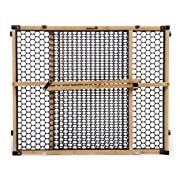 Safety 1st Eco-Friendly Nature Next Bamboo Gate, Bamboo and Black, Fits Spaces Between 28  and 42  Wide