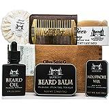 Maison Lambert Ultimate Beard Kit Contains: Organic Beard Balm, Organic Beard Oil, Organic Beard Shampoo, Wood Beard…
