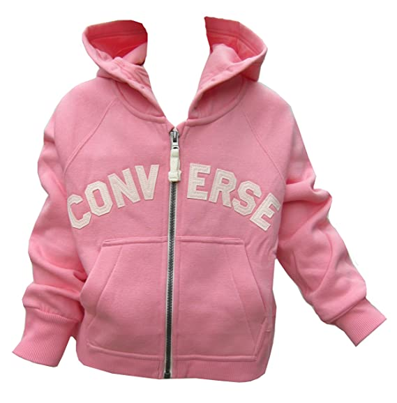 Converse Girls HoodieHoody Fully Zipped Daybreak Pink All