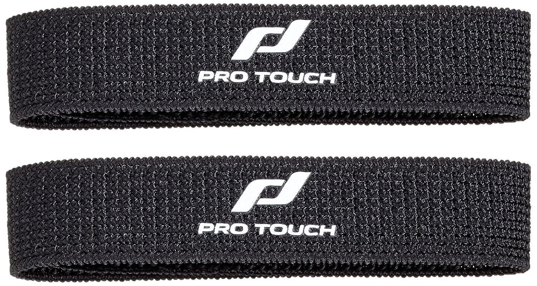 Pro Touch Unisex sujeciones para espinilleras, Unisex, Color Negro, tamaño Talla única: Amazon.es: Deportes y aire libre