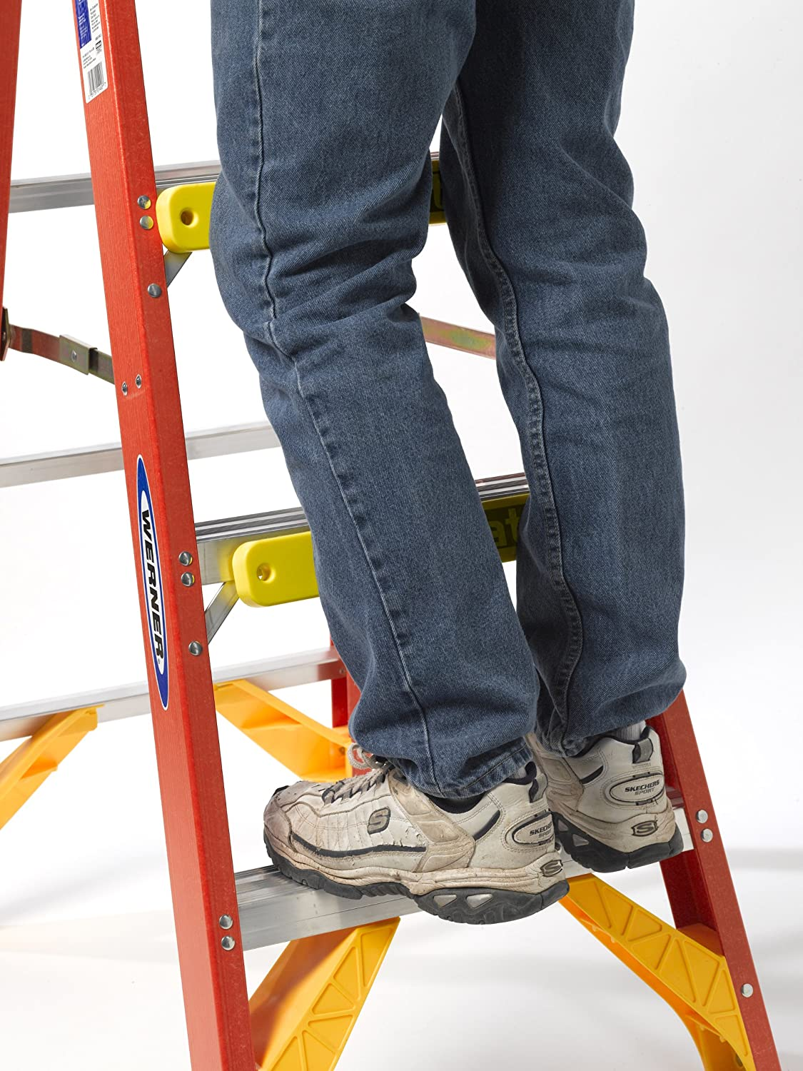 Soft but Durable Shin Saver Details about  /ShinMate Shin Protection Pad for Extention Ladder