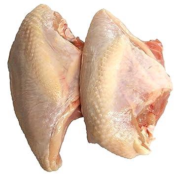 Bell & Evans Bone In-Skin On Chicken Breast (2 Pieces 1 Pound ...
