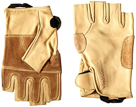 Singing Rock Grippy 3 4 Leather Glove